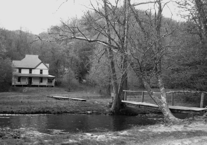 Caldwell (?) Homestead in Cataloochie Valley, NC.