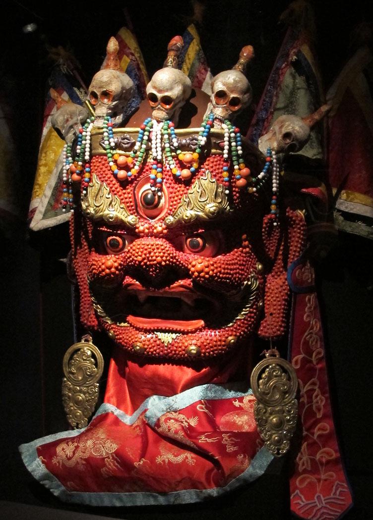 Jamsran Tsam Mask, 2005