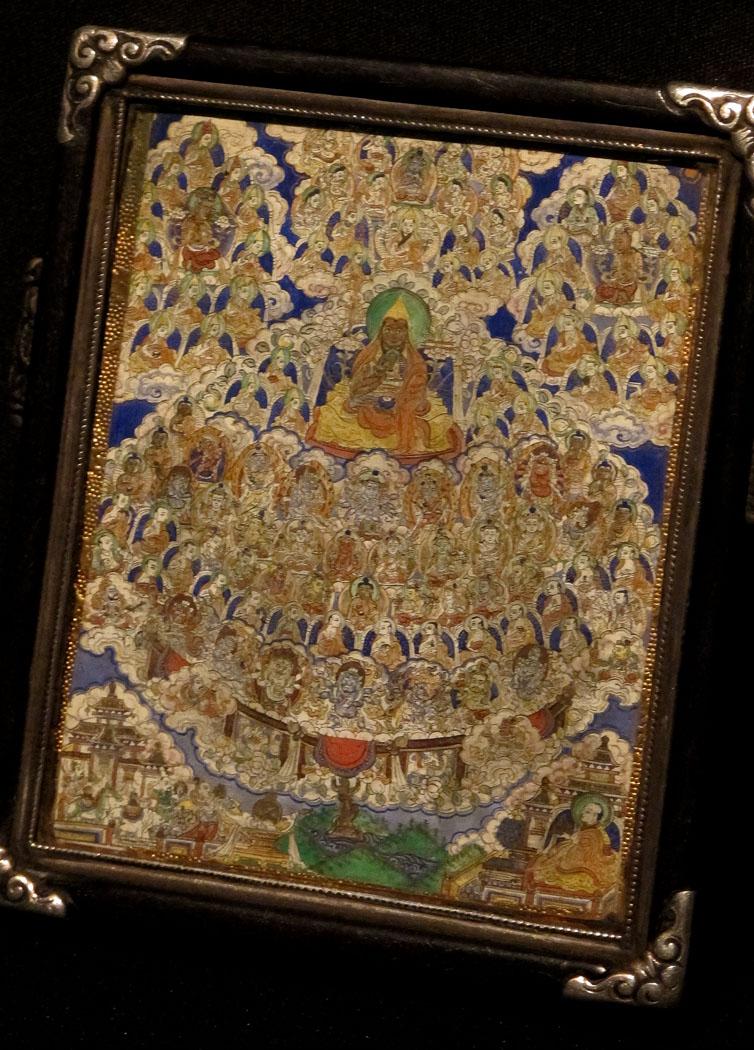 Miniature Buddha Painting, c. 18th Century