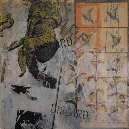 Levacy-Evaluate-20x20in-mixed media on panel