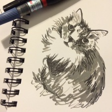 M. Levacy, Inktober 2015 (15 minute time limit)
