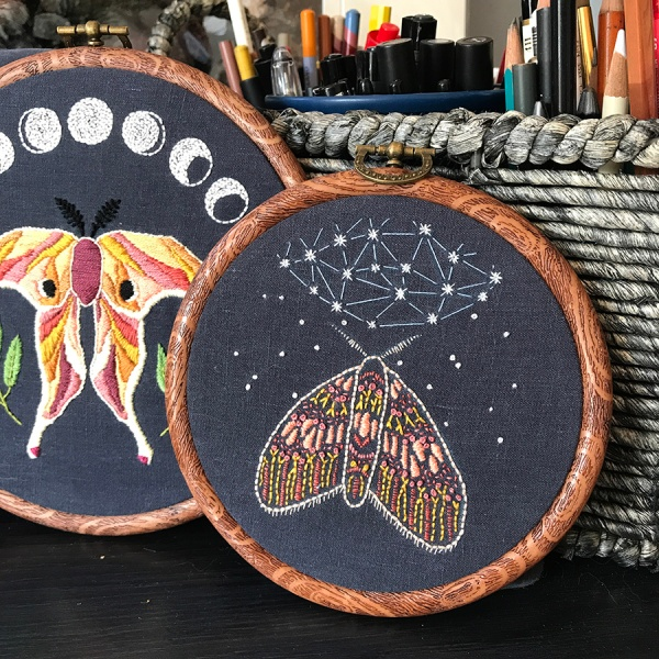 CryTheBird(Levacy)-Embroidery-Moths