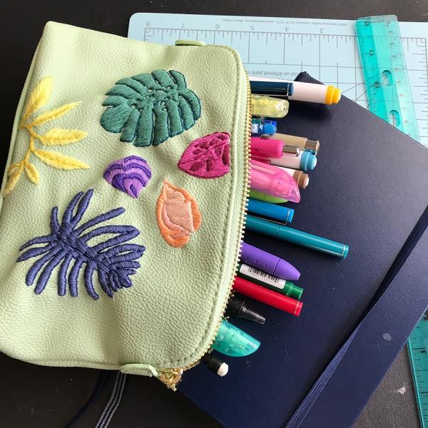 CryTheBird(Levacy)-Embroidery-SKBDIY(leafbag)