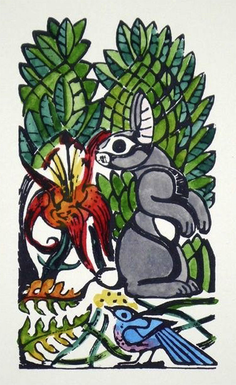 WalterAnderson-Bunny