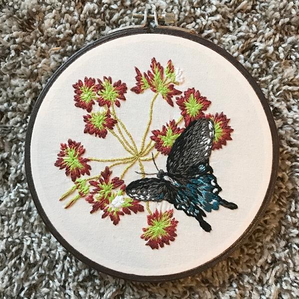 Levacy-Embroidery-CarolinaGeraniumPipevineSwallowtail(web)