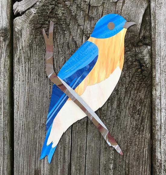 CryTheBird(Levacy)-CutPaperBird-Bluebird