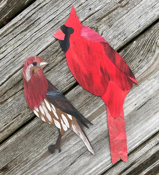 CryTheBird(Levacy)-CutPaperBird-Cardinal-HouseFinch