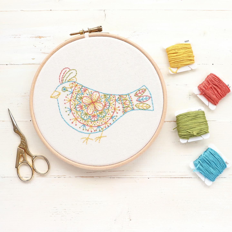 Fiber art bird soft sculpture bead embroidery fabric collage hand stitched textile art unique home decor Claret